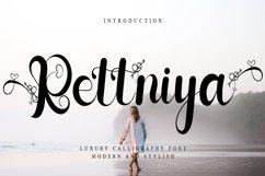Rettniya - luxury Calligraphy Font Product Image 1