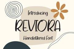 Reviora - Handlettered Font Product Image 1