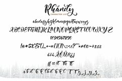 Web Font Rhandy - Uniquely & Naturally Handwritten Product Image 4