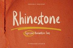 Rhinestone - Expressive Handwritten Product Image 1