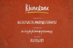 Rhinestone - Expressive Handwritten Product Image 6