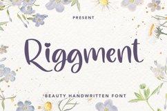 Riggment - Beauty Handwritten Font Product Image 1