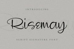 Web Font Risemay Font Product Image 1