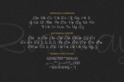 Web Font Risemay Font Product Image 5