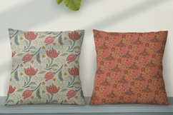 Floral seamless pattern. Swatches in eps 10, ai Product Image 5