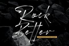 Rock Better - Handwritten Font Product Image 1