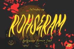 ROHSERAM - Halloween Horror Font Product Image 1