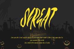 ROHSERAM - Halloween Horror Font Product Image 2