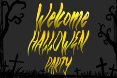 ROHSERAM - Halloween Horror Font Product Image 4