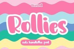 Web Font Rollies - Cute Handletter Font Product Image 1