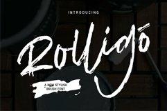 Web Font Rolligo - A New Stylish Brush Font Product Image 1