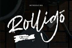 Rolligo - A New Stylish Brush Font Product Image 1