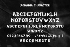 Web Font Romanian - Cool Blackletter Font Product Image 5
