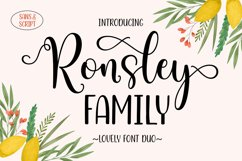 Ronsley Family Font Duo Product Image 1