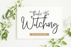 Web Font Roombays - Narutaly Flow Handwriting Script Font Product Image 6
