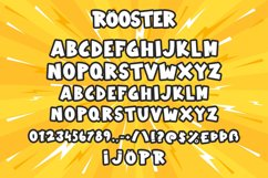 Rooster - Comic Display Font Product Image 5