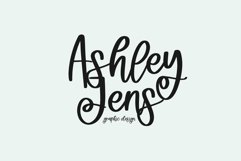 Web Font Rosebay - Handwritten Script Font Product Image 4