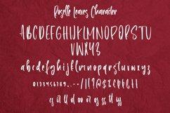Web Font Roselle Leaves - Handwritten Font Product Image 3