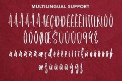 Web Font Roselle Leaves - Handwritten Font Product Image 4