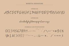 Rosetta Signature | Elegant Fashionable Signature Script Product Image 4