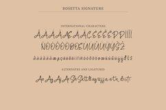 Rosetta Signature | Elegant Fashionable Signature Script Product Image 5
