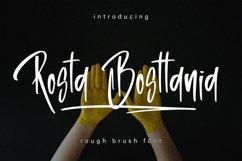 Rosta Bosttania - Brush Script Font Product Image 1