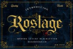 ROSTAGE Blackletter Product Image 1