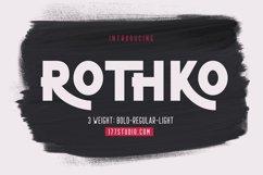 ROTHKO Sans Serif Font Product Image 1