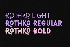 ROTHKO Sans Serif Font Product Image 6