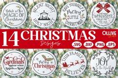 Christmas Door Signs Bundle | Christmas SVG Product Image 1