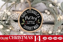 Christmas Door Signs Bundle | Christmas SVG Product Image 3