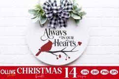 Christmas Door Signs Bundle | Christmas SVG Product Image 4