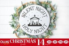 Christmas Door Signs Bundle | Christmas SVG Product Image 6