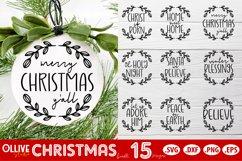 Christmas Ornaments SVG   Christmas Bundle SVG Product Image 2