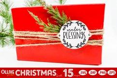 Christmas Ornaments SVG   Christmas Bundle SVG Product Image 3