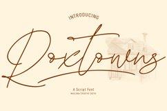 Roxtowns Script Font Product Image 1