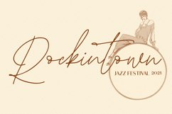Roxtowns Script Font Product Image 3