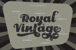 Royal Vintage - Bold Retro Font Product Image 6