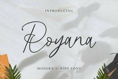 Web Font Royana Product Image 1