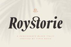 Roystorie Italic Product Image 1
