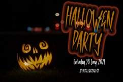 RUMADARAH - Halloween Horror Font Product Image 3