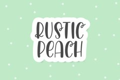 Rustic Peach Product Image 1