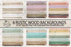 Rustic Wood grunge Sublimation Backgrounds Boho Rectangle Mug Backgrounds