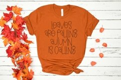 Web Font Rustling Leaves - A Quirky Handlettered Font Product Image 3