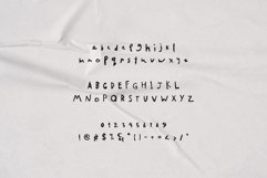 SA Yesenin Realistic Scribbles Font Product Image 2