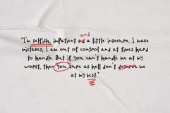 SA Yesenin Realistic Scribbles Font Product Image 6