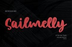 Sailmelly Script Font Product Image 1