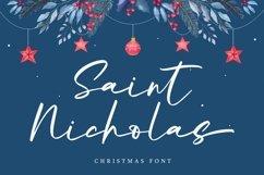 Web Font Saint Nicholas - Christmas Font Product Image 1