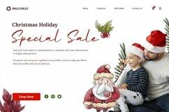 Web Font Saint Nicholas - Christmas Font Product Image 5