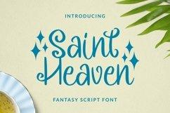 Web Font Saintheaven Font Product Image 1